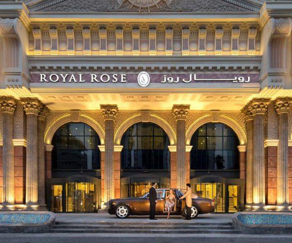 royal rose hotel dubai